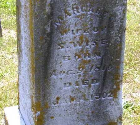 HINKELE WISE, MARGARET - Gallia County, Ohio   MARGARET HINKELE WISE - Ohio Gravestone Photos