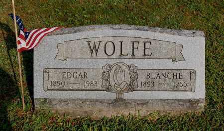 WOLFE, EDGAR - Gallia County, Ohio | EDGAR WOLFE - Ohio Gravestone Photos