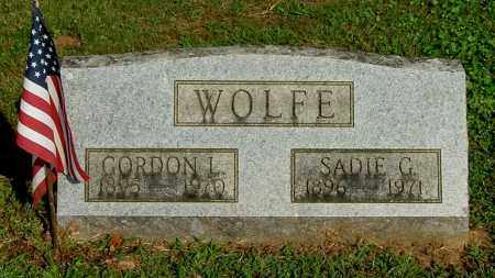 WOLFE, GORDON L - Gallia County, Ohio | GORDON L WOLFE - Ohio Gravestone Photos
