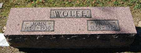 WOLFE, JOHN - Gallia County, Ohio | JOHN WOLFE - Ohio Gravestone Photos