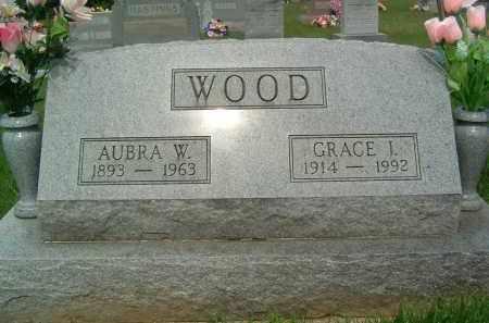 WOOD, GRACE J. - Gallia County, Ohio   GRACE J. WOOD - Ohio Gravestone Photos