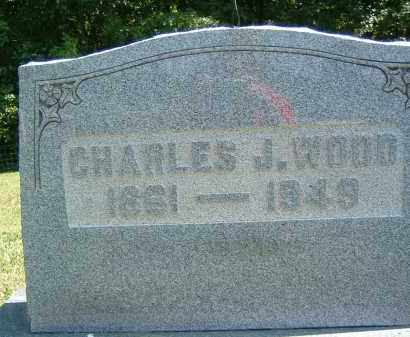 WOOD, CHARLES J. - Gallia County, Ohio | CHARLES J. WOOD - Ohio Gravestone Photos