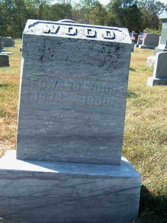 WOOD, EDWARD E - Gallia County, Ohio | EDWARD E WOOD - Ohio Gravestone Photos