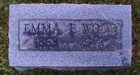 WOOD, EMMA - Gallia County, Ohio | EMMA WOOD - Ohio Gravestone Photos