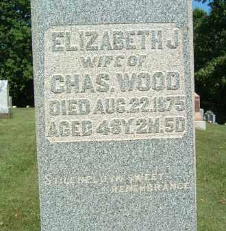 WOOD, ELIZABETH J. - Gallia County, Ohio | ELIZABETH J. WOOD - Ohio Gravestone Photos