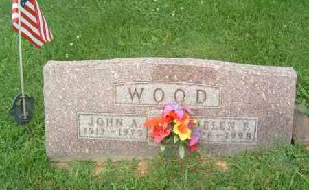 WOOD, JOHN A. - Gallia County, Ohio | JOHN A. WOOD - Ohio Gravestone Photos