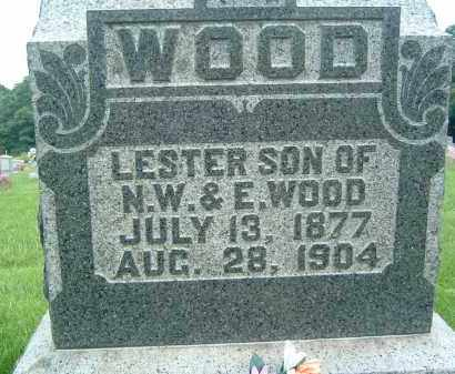 WOOD, LESTER - Gallia County, Ohio   LESTER WOOD - Ohio Gravestone Photos