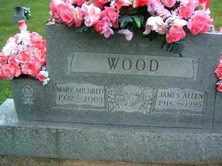 WOOD, JAMES ALLEN - Gallia County, Ohio | JAMES ALLEN WOOD - Ohio Gravestone Photos