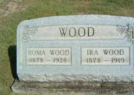 WOOD, IRA - Gallia County, Ohio | IRA WOOD - Ohio Gravestone Photos