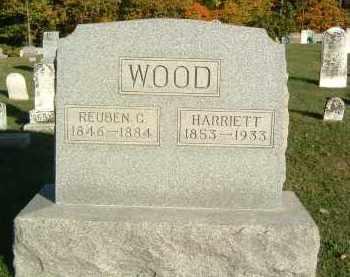 WOOD, REUBEN C. - Gallia County, Ohio | REUBEN C. WOOD - Ohio Gravestone Photos