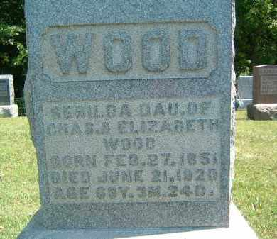WOOD, SERILDA - Gallia County, Ohio | SERILDA WOOD - Ohio Gravestone Photos