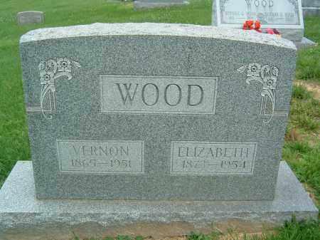 WOOD, ELIZABETH - Gallia County, Ohio | ELIZABETH WOOD - Ohio Gravestone Photos