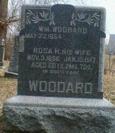 WOODARD, WILLIAM - Gallia County, Ohio | WILLIAM WOODARD - Ohio Gravestone Photos