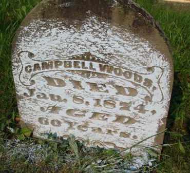 WOODS, CAMPBELL - Gallia County, Ohio   CAMPBELL WOODS - Ohio Gravestone Photos