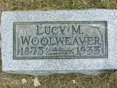 JOHNSON WOOLWEAVER, LUCY M. - Gallia County, Ohio | LUCY M. JOHNSON WOOLWEAVER - Ohio Gravestone Photos