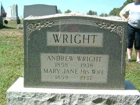 WRIGHT, MARY JANE - Gallia County, Ohio | MARY JANE WRIGHT - Ohio Gravestone Photos