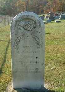WRIGHT, ANDREW - Gallia County, Ohio | ANDREW WRIGHT - Ohio Gravestone Photos