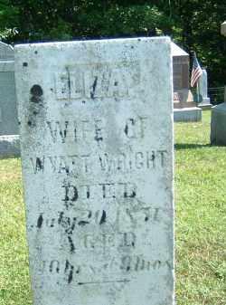 WRIGHT, ELIZA - Gallia County, Ohio | ELIZA WRIGHT - Ohio Gravestone Photos