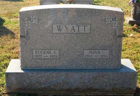 WYATT, NINA - Gallia County, Ohio | NINA WYATT - Ohio Gravestone Photos