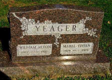 YEAGER, WILLIAM ALTON - Gallia County, Ohio | WILLIAM ALTON YEAGER - Ohio Gravestone Photos