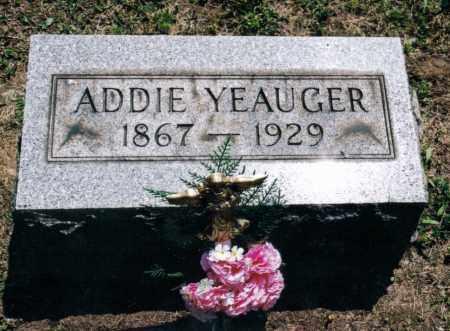 YEAUGER, ADELINE - Gallia County, Ohio | ADELINE YEAUGER - Ohio Gravestone Photos