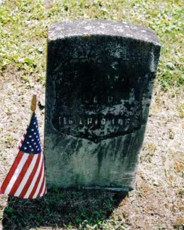 YEAUGER, BENJAMIN - Gallia County, Ohio | BENJAMIN YEAUGER - Ohio Gravestone Photos