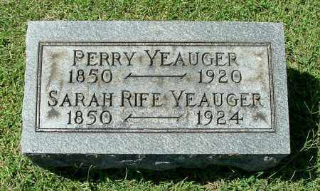 YEAUGER, PERRY - Gallia County, Ohio   PERRY YEAUGER - Ohio Gravestone Photos