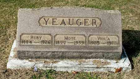 YEAUGER, RUBY - Gallia County, Ohio | RUBY YEAUGER - Ohio Gravestone Photos