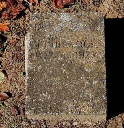 YOGER, ZETTIE - Gallia County, Ohio   ZETTIE YOGER - Ohio Gravestone Photos