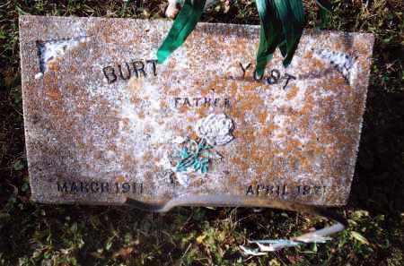 YOST, BURTON - Gallia County, Ohio | BURTON YOST - Ohio Gravestone Photos