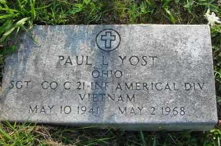 YOST, PAUL L. - Gallia County, Ohio   PAUL L. YOST - Ohio Gravestone Photos