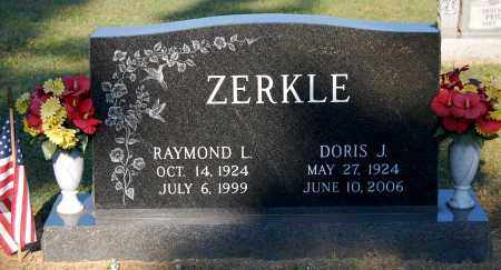 ZERKLE, RAYMOND L - Gallia County, Ohio | RAYMOND L ZERKLE - Ohio Gravestone Photos