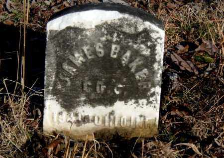 BAKER, JAMES - Gallia County, Ohio | JAMES BAKER - Ohio Gravestone Photos