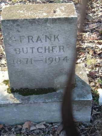 BUTCHER, FRANK - Gallia County, Ohio   FRANK BUTCHER - Ohio Gravestone Photos