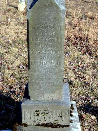 FRASIER, WESLEY H - Gallia County, Ohio | WESLEY H FRASIER - Ohio Gravestone Photos