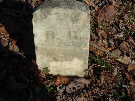 'G', 'B' - Gallia County, Ohio   'B' 'G' - Ohio Gravestone Photos