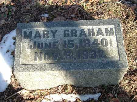 GRAHAM, MARY - Gallia County, Ohio | MARY GRAHAM - Ohio Gravestone Photos