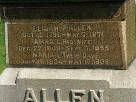 ALLEN, AMNA L. - Geauga County, Ohio   AMNA L. ALLEN - Ohio Gravestone Photos