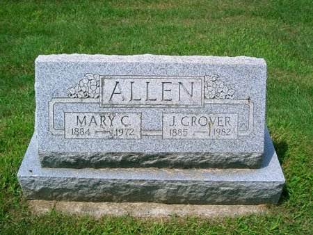 MOSS ALLEN, MARY CLEVELAND - Geauga County, Ohio | MARY CLEVELAND MOSS ALLEN - Ohio Gravestone Photos