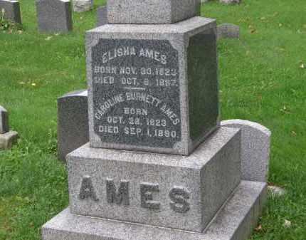 AMES, CAROLINE - Geauga County, Ohio | CAROLINE AMES - Ohio Gravestone Photos
