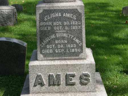 BURNETT AMES, CAROLINE - Geauga County, Ohio | CAROLINE BURNETT AMES - Ohio Gravestone Photos