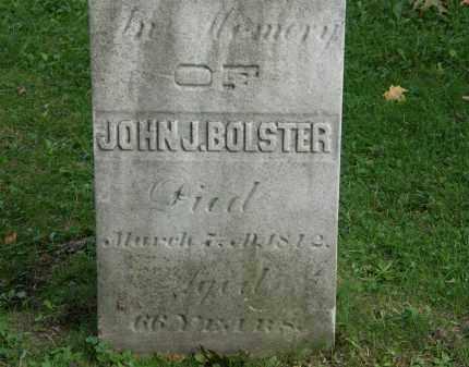 BOLSTER, JOHN J. - Geauga County, Ohio   JOHN J. BOLSTER - Ohio Gravestone Photos