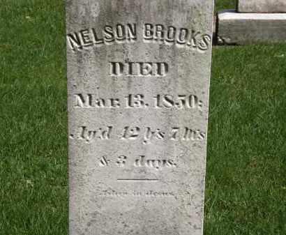 BROOKS, NELSON - Geauga County, Ohio   NELSON BROOKS - Ohio Gravestone Photos