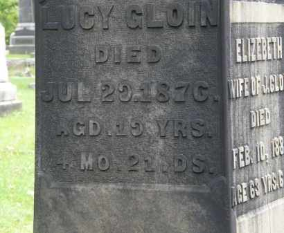 CLOIN, LUCY - Geauga County, Ohio | LUCY CLOIN - Ohio Gravestone Photos
