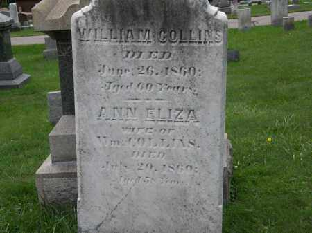 COLLINS, ANN ELIZA - Geauga County, Ohio | ANN ELIZA COLLINS - Ohio Gravestone Photos