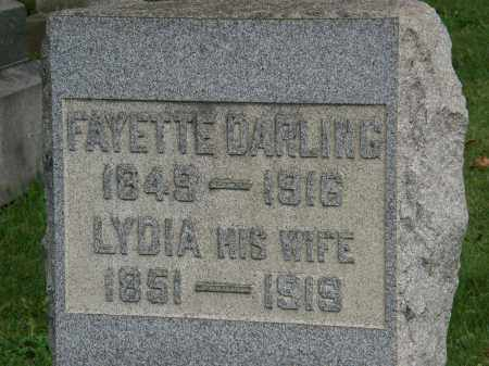 DARLING, LYDIA - Geauga County, Ohio | LYDIA DARLING - Ohio Gravestone Photos