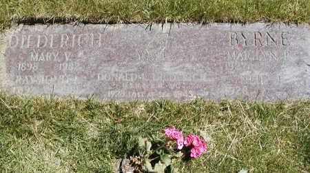 DIEDERICH, DONALD L. - Geauga County, Ohio | DONALD L. DIEDERICH - Ohio Gravestone Photos