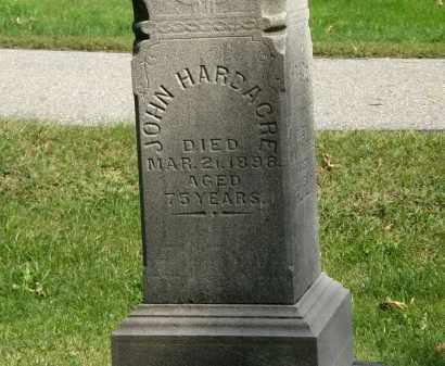 HARDACRE, JOHN - Geauga County, Ohio | JOHN HARDACRE - Ohio Gravestone Photos