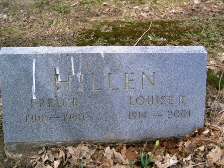 RHODES HILLEN, LOUISE R - Geauga County, Ohio | LOUISE R RHODES HILLEN - Ohio Gravestone Photos