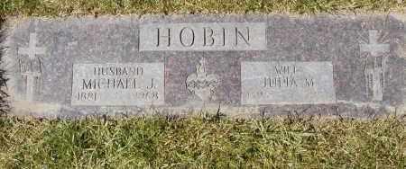 HOBIN, MICHAEL J. - Geauga County, Ohio | MICHAEL J. HOBIN - Ohio Gravestone Photos